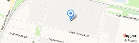 Ореол на карте Архангельска