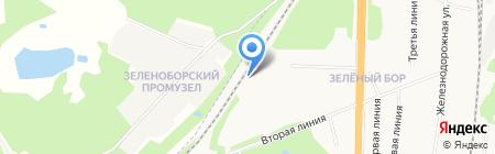 Компания по продаже контрактных автозапчастей для Mercedes на карте Архангельска