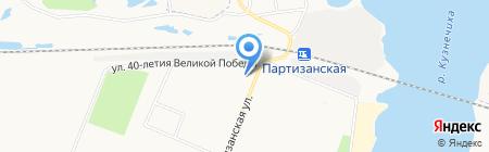 Детская школа искусств №5 на карте Архангельска