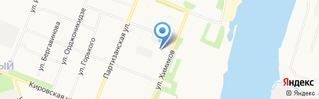 Союз микрофинансирования СЗ на карте Архангельска