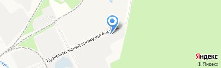 Студия стекла на карте Архангельска