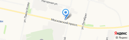 ГрандАвто на карте Архангельска