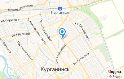 Местоположение на карте пункта техосмотра по адресу Краснодарский край, г Курганинск, ул Мира, д 76