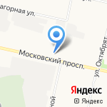 Регион на карте Архангельска