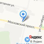 Магазин автозапчастей для Ford на карте Архангельска