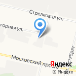 Меткомснаб на карте Архангельска