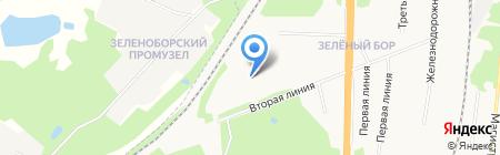 Средняя общеобразовательная школа №93 на карте Архангельска