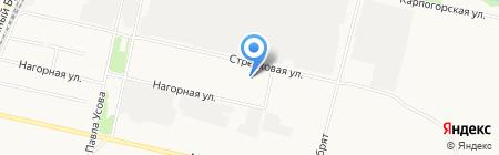 Восточный рай на карте Архангельска