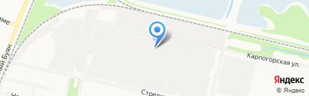 Транс-выбор на карте Архангельска