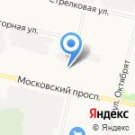 MIPA на карте Архангельска