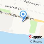 Автодоктор на карте Архангельска