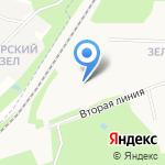 Средняя общеобразовательная школа №93 с дошкольным отделением на карте Архангельска