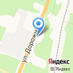 Дорожников на карте Архангельска