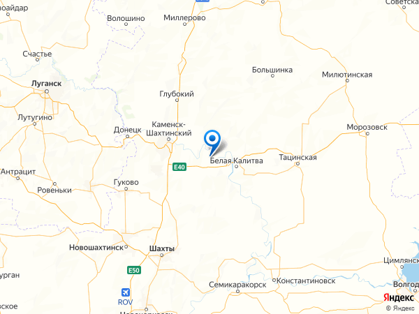 поселок Русичи на карте