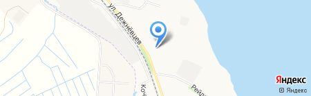 Средняя общеобразовательная школа №77 на карте Архангельска