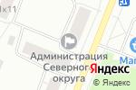 Схема проезда до компании Швейное ателье в Архангельске