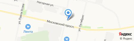 АвтоМаркет на карте Архангельска