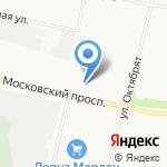 ПРО на карте Архангельска
