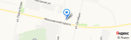 Автокафе на карте Архангельска