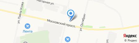 Север-Мото на карте Архангельска