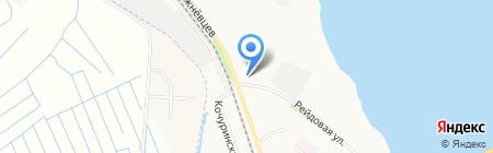 Пожарная часть №5 на карте Архангельска