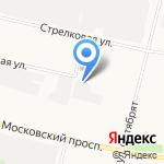 Мастер-Град на карте Архангельска