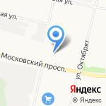 СпутникАвто на карте Архангельска