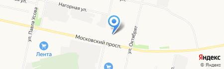 Север-Авто на карте Архангельска