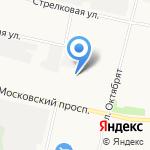 Автоключ на карте Архангельска