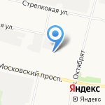 Азиямоторс на карте Архангельска