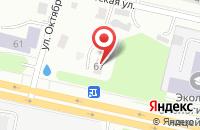 Схема проезда до компании Лео Пицца в Ярославле