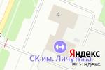Схема проезда до компании ДЮСШ №6 в Архангельске