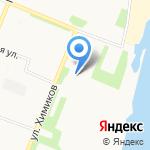 Теннисный клуб на карте Архангельска