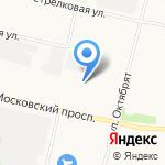 Магазин автомасел и химии на карте Архангельска