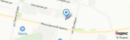 Ока на карте Архангельска