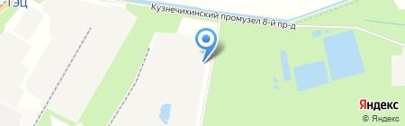Строительно-монтажный трест №5 на карте Архангельска