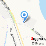 Ариэль на карте Архангельска