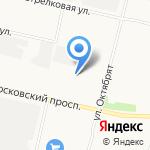 Автолада на карте Архангельска