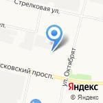 Радуга на карте Архангельска