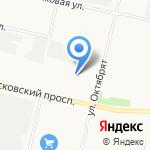 Автолегион на карте Архангельска