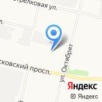 Бендикс на карте Архангельска