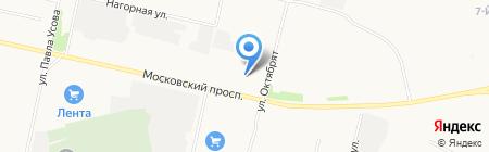 GO! КОФЕ на карте Архангельска