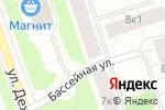 Схема проезда до компании СОГИ в Архангельске