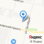 Магазин автозапчастей для Renault на карте Архангельска