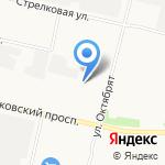 Автосила на карте Архангельска