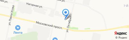 EUROMOTORS на карте Архангельска