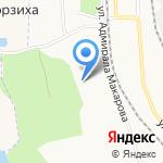 Средняя школа №77 на карте Архангельска