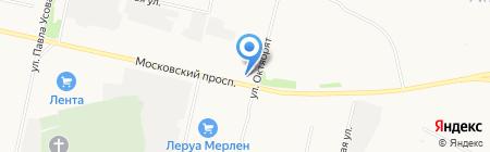 PAXUS на карте Архангельска