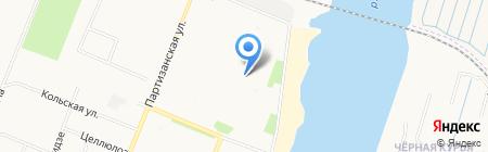 Мини Дом на карте Архангельска