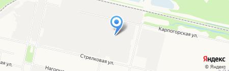 Отдельный батальон ДПС ГИБДД Управления МВД России по Архангельской области на карте Архангельска